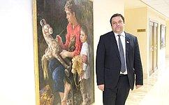 ВСовете Федерации открылась выставка «Образцы вне времени»