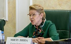 Е.Мизулина приняла предложение врио губернатора Омской области войти втройку претендентов вСФ