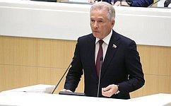В. Пономарев представил информацию освоей работе вкачестве полномочного представителя Совета Федерации вЦИК РФ