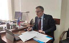 Важно, что молодые парламентарии обсуждают значимые для регионов темы— А.Варфоломеев
