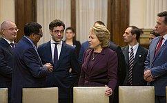 Спикер СФ провела встречу сПредседателем Палаты депутатов Национального конгресса Аргентины
