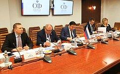 А. Акимов иЮ.Важенин приняли участие вработе 14-й Конференции парламентариев Арктического региона