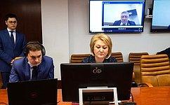 Л. Гумерова: ВСовете Федерации созданы все условия для работы вдистанционном режиме