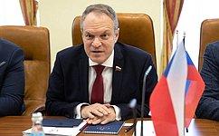 А. Башкин: Нужно использовать наши возможности, чтобы сделать отношения между Россией иЧехией более эффективными