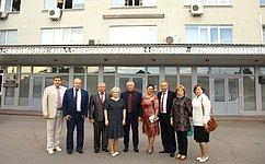 Л.Антонова посетила Московский вертолетный завод имени М.Л.Миля