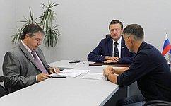 С.Рябухин принял участие врабочем совещании ипровел прием граждан вУльяновской области