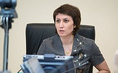 Т.Лебедева обсудила вВолгоградской областной Думе вопросы экологии