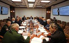 В. Бондарев: Впериод осенней сессии 2020года Комитет СФ пообороне ибезопасности продолжит работу спроектами федеральных законов