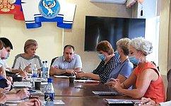 Т.Гигель: Важно видеть перспективы идинамику развития региона спозиций каждого жителя Республики Алтай