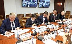 Ход реализации нацпроекта, касающегося малого исреднего предпринимательства, рассмотрели вСовете Федерации
