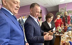 О. Алексеев побывал вКраснокутском муниципальном районе Саратовской области