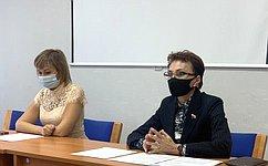 Т. Кусайко: Образовательный процесс вшколах Мурманской области проходит сучётом требований Роспотребнадзора