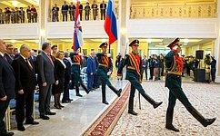 В.Матвиенко: Наши солдаты иофицеры честно имужественно выполняли свой долг вАфганистане