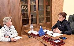Врамках работы вМурманской области Т.Кусайко провела прием граждан