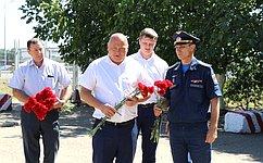 А. Кондратенко почтил память героев 55-го севастопольского вертолётного полка