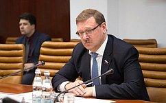 К. Косачев: Диалог парламентариев России иИордании надо перевести насистемную основу