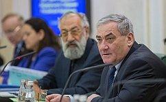 В. Штыров провел заседание Экспертного совета поАрктике иАнтарктике при Совете Федерации