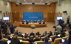 В.Матвиенко приняла участие взаседании Президиума Совета законодателей при Федеральном Собрании РФ