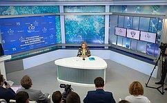 В.Матвиенко: Законотворческая активность сенаторов значительно возросла