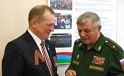 С.Катанандов встретился сруководителями ветеранских организаций Республики Карелия