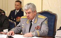 В. Бондарев: ВСовете Федерации стало хорошей традицией проводить совместные мероприятия сКлубом военачальников Российской Федерации