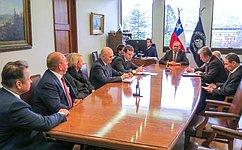 М. Щетинин: Российско-чилийские межпарламентские связи характеризуются положительной динамикой