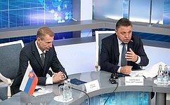 Мы готовы креализации совместных сбизнесом Словакии проектов, которые важны иполезны для людей— В.Тимченко