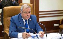 Ю. Важенин: Совет Федерации уделяет особое внимание вопросам безопасности населения