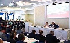 В.Матвиенко: Необходимо разработать конкретные механизмы для достижения национальных целей развития России