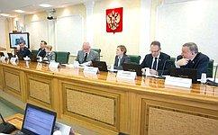 Кандидатуры членов Высшей квалификационной коллегии судей– представителей общественности обсудили вСовете Федерации