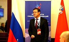Д.Азаров: Необходимо повышать степень участия негосударственного сектора всоциальной сфере