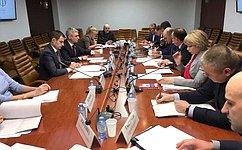 Законодательное обеспечение трудовой деятельности всистеме исполнения наказания обсудили вСовете Федерации