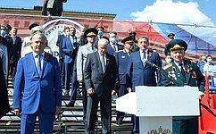 С. Лукин: Парад Победы– символ национальной гордости, воинской славы идоблести нашего народа