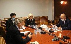 О. Ковитиди провела первое заседание подкомитета повопросам судебной системы, прокуратуры, защиты прав исвобод граждан