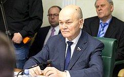 М.Щетинин принял участие взаседании Комиссии Парламентского Собрания Союза Белоруссии иРоссии