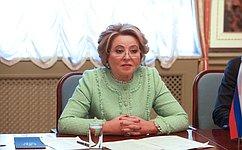 Парламентарии России иАзербайджана активно содействуют планомерной реализации выработанных навысшем уровне договоренностей– В. Матвиенко