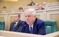 Н. Рыжков иИ. Кулабухов обсудили сбелгородскими волонтерами ход подготовки кпразднованию 70-летия Победы