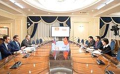 Председатель Комитета СФ помеждународным делам К.Косачев встретился сПослом Вьетнама вРФ Нго Дык Манем