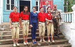Ю.Вепринцева: Юные туляки активно вступают вряды юнармейского движения