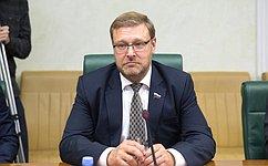 Надо дать возможность молодым людям зарубежом увидеть настоящую Россию— К.Косачев