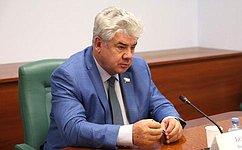 Комитеты СФ обсудили благоустройство жилых зон военных городков свыделением целевого финансирования