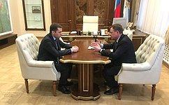 В. Новожилов: Сейчас необходима поддержка региональных сельхозтоваропроизводителей