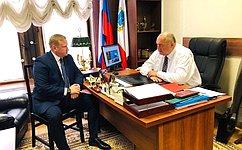 С. Аренин пожелал успехов команде «Юнармии» Саратовской области