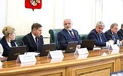 ВСовете Федерации предварительно обсудили кандидатуру В.Лебедева для назначения надолжность Председателя Верховного Суда РФ
