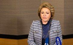 Председатель Совета Федерации подвела первые итоги официального визита делегации СФ вЯпонию