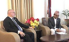 Делегация Комитета СФ поконституционному законодательству игосударственному строительству совершила официальный визит вНепал
