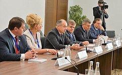 Делегация Совета Федерации провела встречу сПрезидентом Республики Татарстан