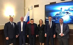 Ленинградцам вручили награды Совета Федерации