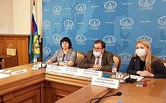 Елена Афанасьева приняла участие ввидеоконференции актива международного женского движения российских соотечественников
