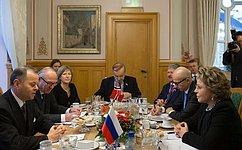 Спикер СФ иПрезидент Стортинга Норвегии обсудили возможность расширения безвизовой приграничной зоны